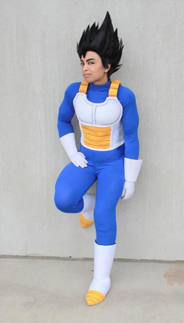 Fantasia Dragon Ball personagem Vegeta