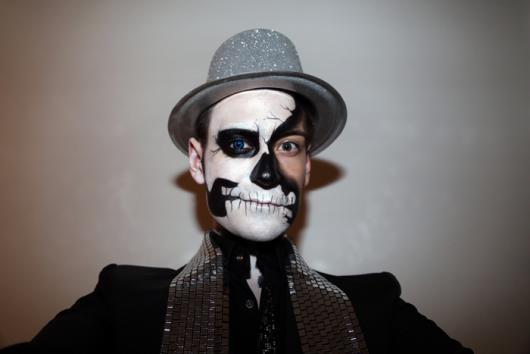 maquiagem criativa caveira