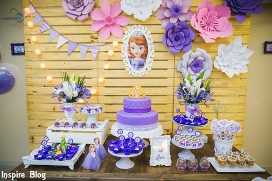 decoração princesa Sofia