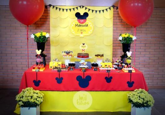 Festa Mickey menina
