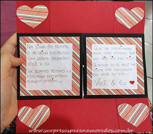 carta de amor para bodas de beijinho