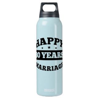 Garrafa comemorativa dos 30 anos de casamento.