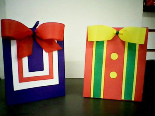 Lembrancinhas Patati Patatá caixinha de papel