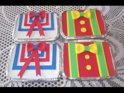 Lembrancinhas Patati Patatá marmitinha com gravata