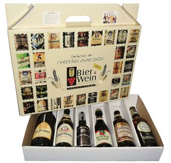 caixa de cervejas especiais