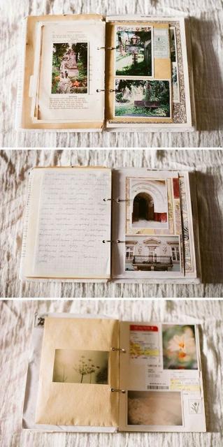 Álbum de fotos e lembranças personalizado.