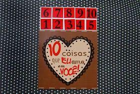 cartão com as razões pelos quais alguém ama sua amiga