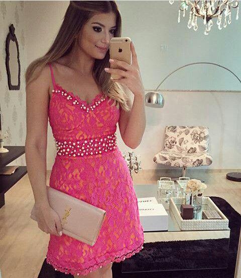 Vestido De Formatura Rosa 49 Modelos Apaixonantes Dicas
