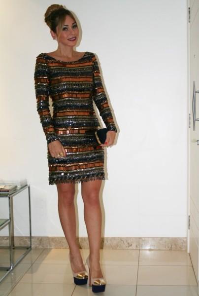 Fotos de vestidos curtos de uma manga so