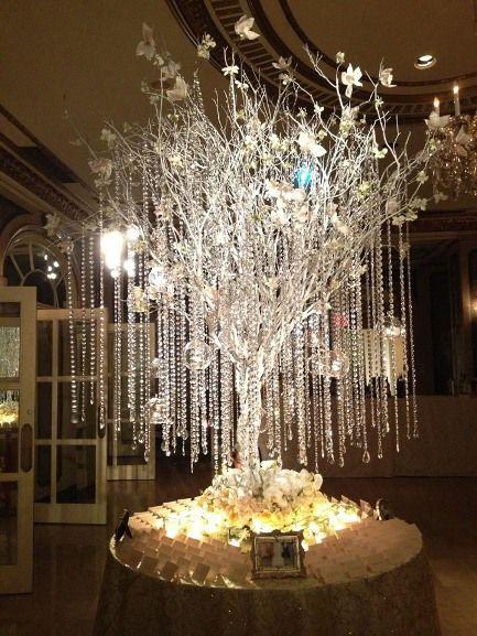 árvores de cristais para decoração