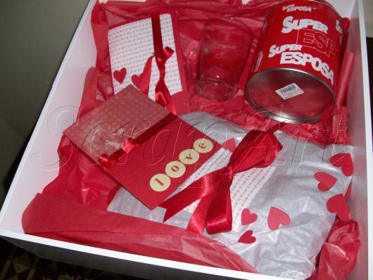 kit de presentes para esposa