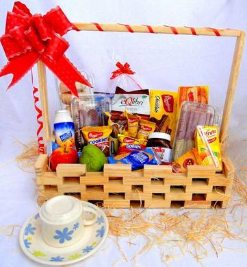 cesta de café-da-manhã