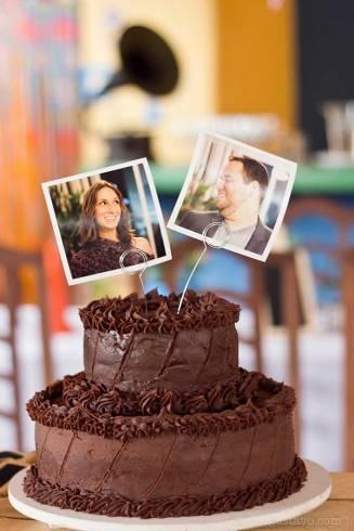 bolo de chocolate 2 andares