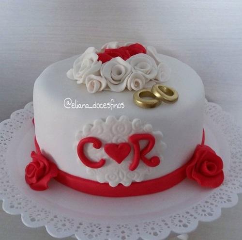 bolo redondo pequeno
