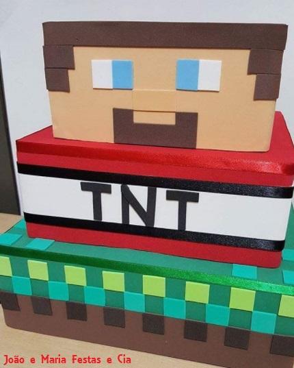 bolo EVA Minecraft