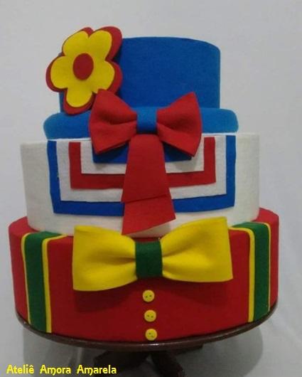 bolo palhaço
