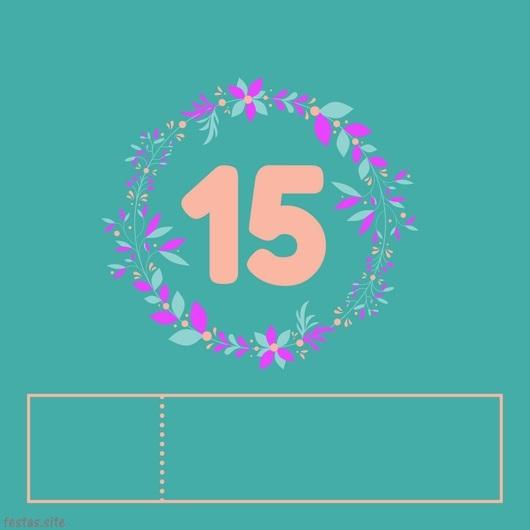 73 Convites De 15 Anos Maravilhosos Como Fazer Em Casa