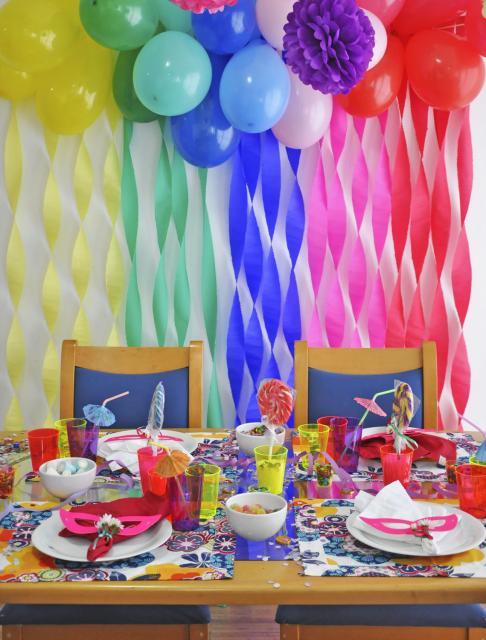 Decoraç u00e3o com Papel Crepom u2013 45 Ideias Fascinantes para sua Festa! -> Decoração De Papel Crepom Como Fazer