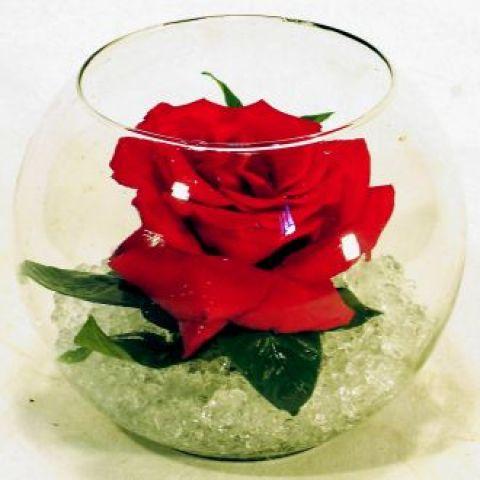 flor dentro de um pote para lemmbrancinha