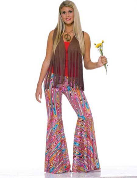 lindo look hippie inspirado nos anos 60