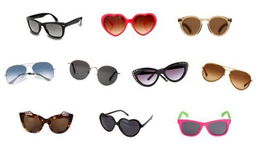 Modelos de óculos para compor fantasias anos 60 femininas