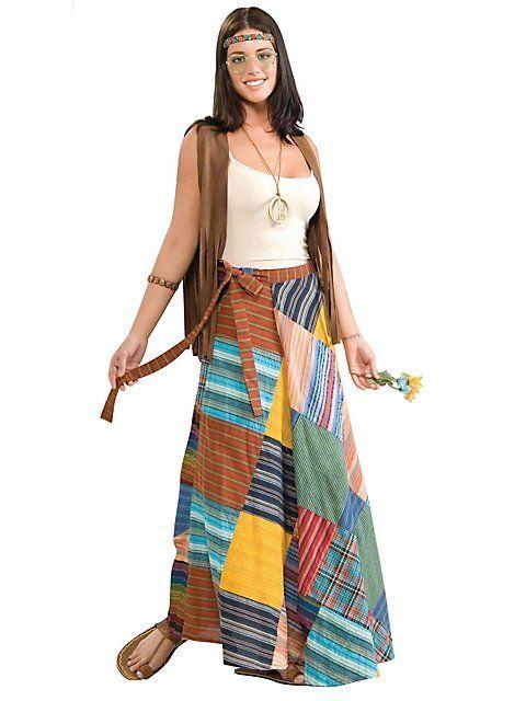 Saia com estampa colorida combinada com blusa de alcinha e colete
