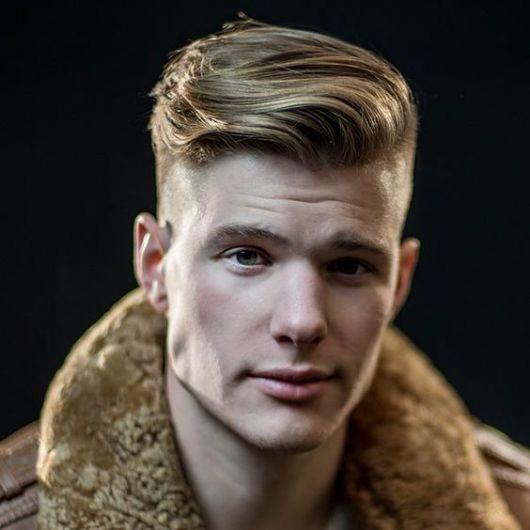 Fantasias anos 60 masculinas topete cabelo liso