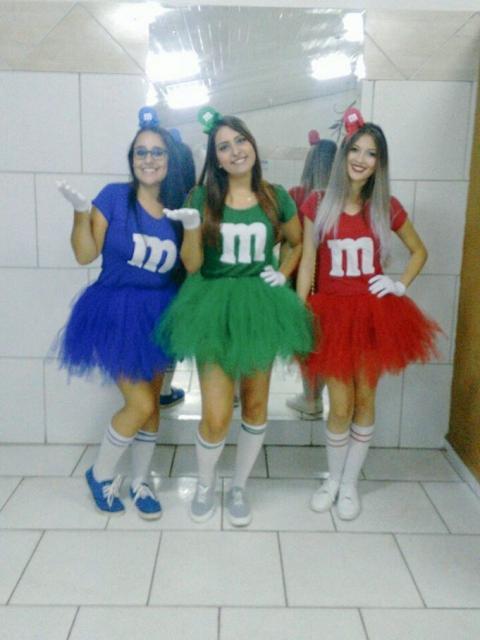 fantasia de M&M's