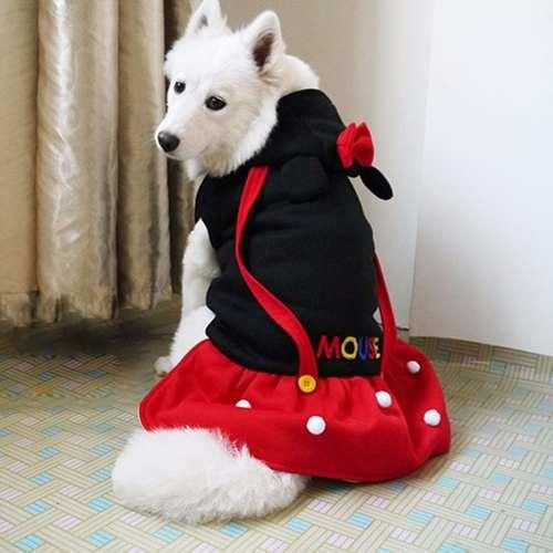 Fantasias para cachorros Mickey