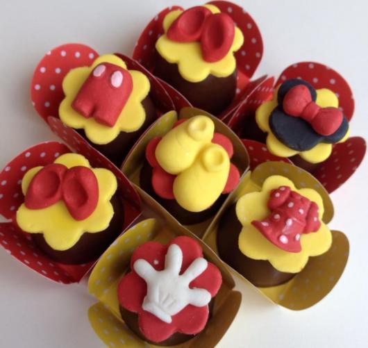 Festa da Minnie vermelha doces personalizados