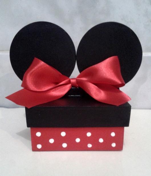 Festa da Minnie vermelha lembrancinha MDF