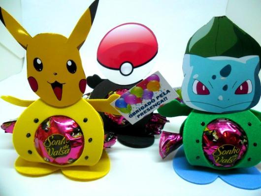 guarda bombom do Pokémon
