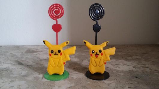 enfeites do Pikachu para colocar lembretes ou fotos