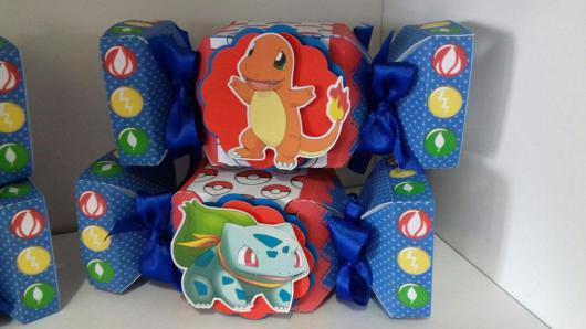 caixinha de doces do Pokémon