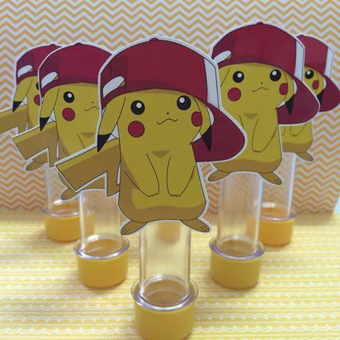 tubinhos do Pikachu