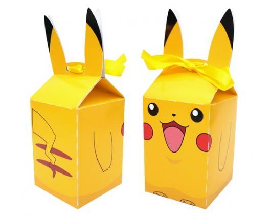 caixinha do Pikachu