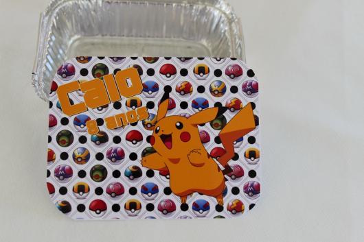 marmitinha de doces do Pikachu