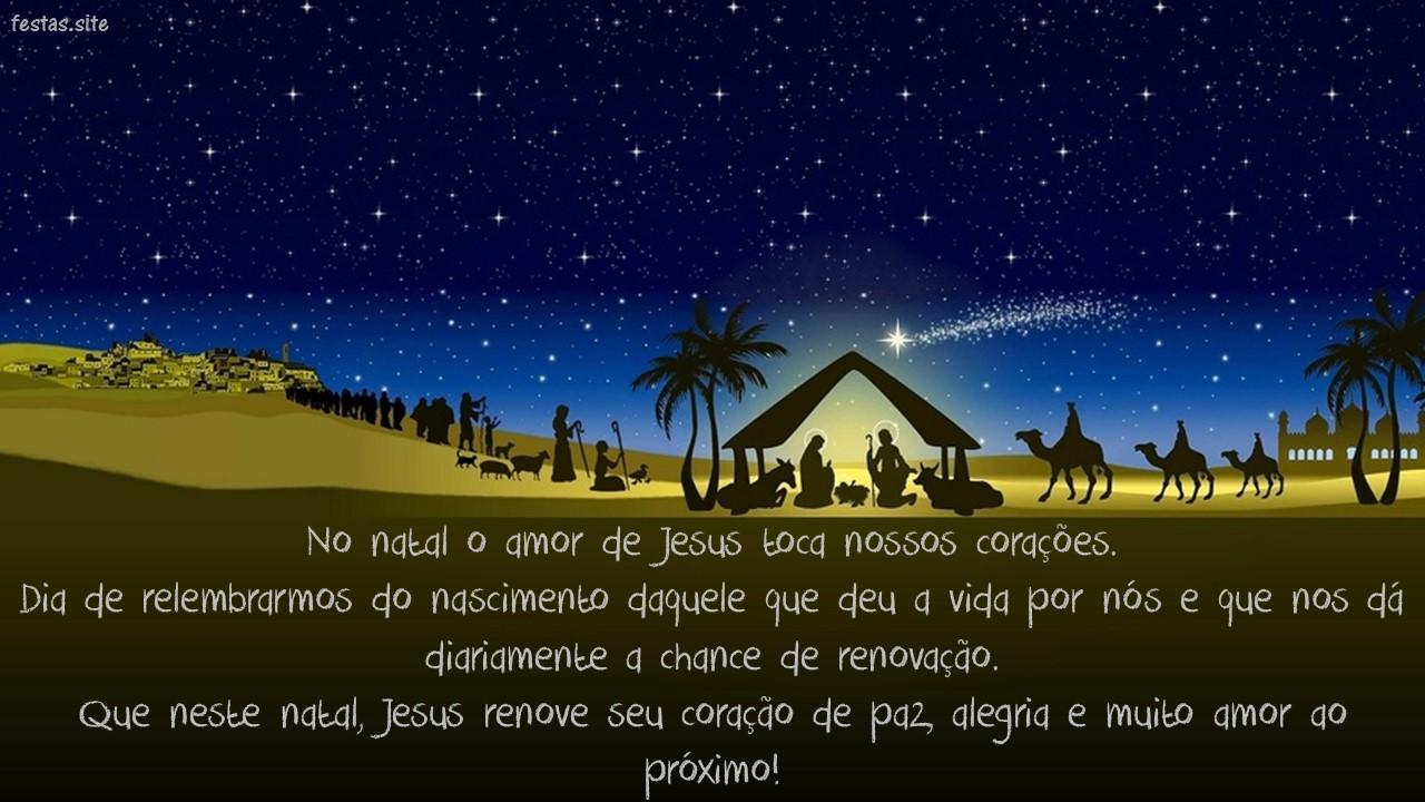 Mensagem De Natal Evangélica Para Amigos: 64 Mensagens De Natal Para Amigos Com Textos E Imagens