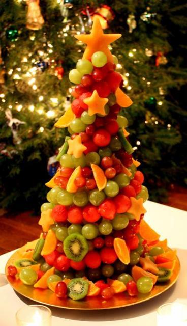 árvore de frutas decoração