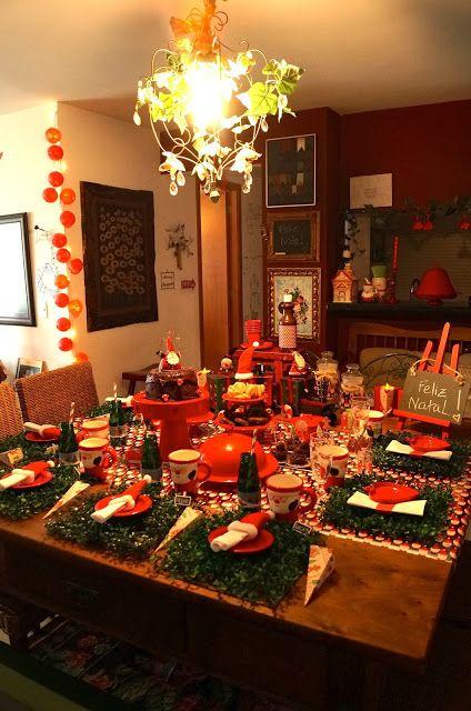 mesa dia de natal