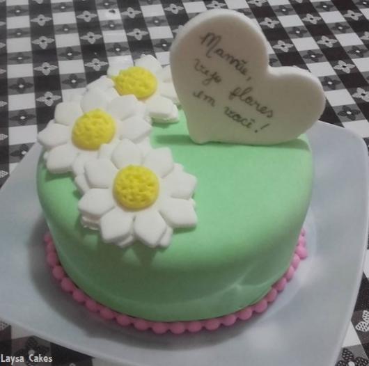 mini bolo mãe