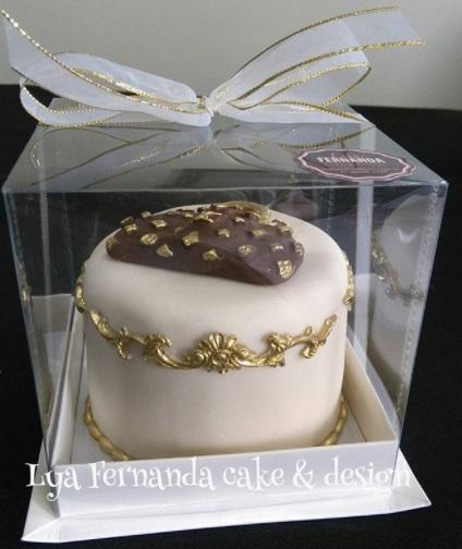 bolo decorado pasta americana