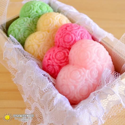 Presentes de natal baratos sabonete artesanal