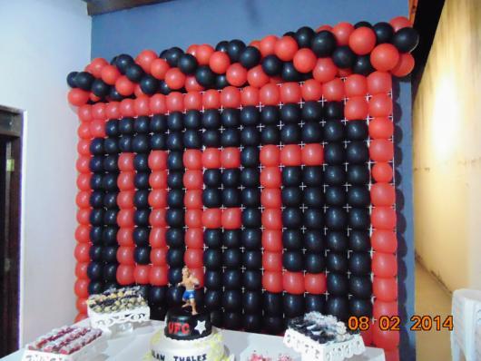 Temas para festa de 18 anos UFC