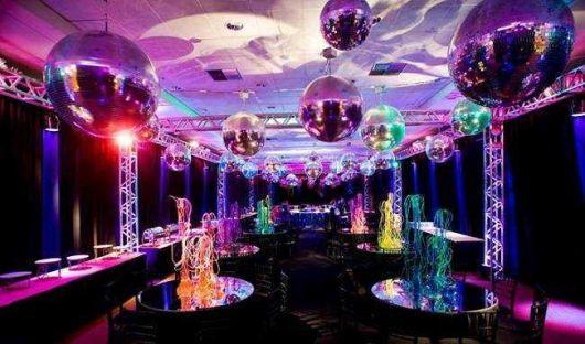 Temas para festa de 18 anos balada com globos