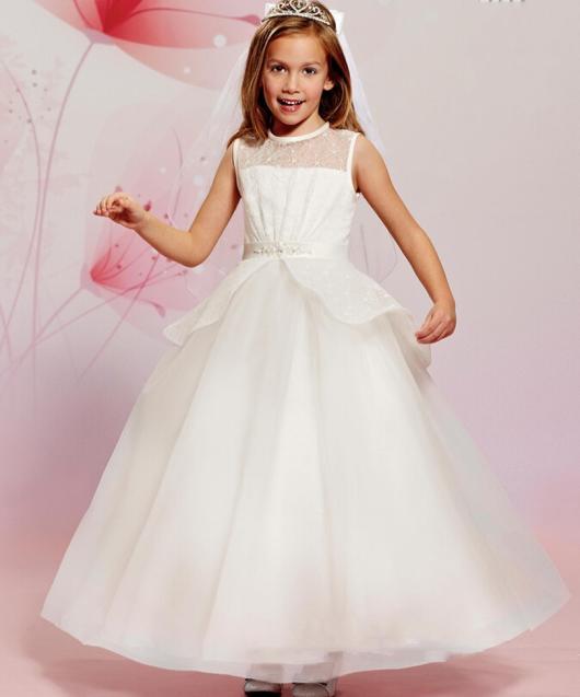 Vestido de menina branco