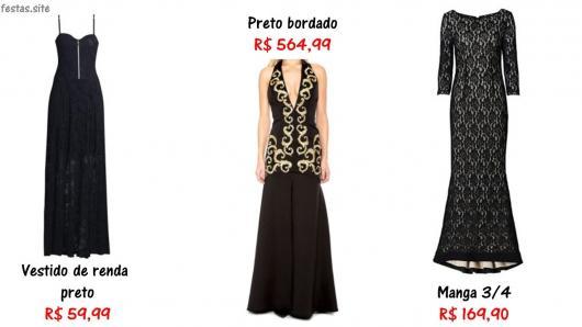 onde comprar vestido preto