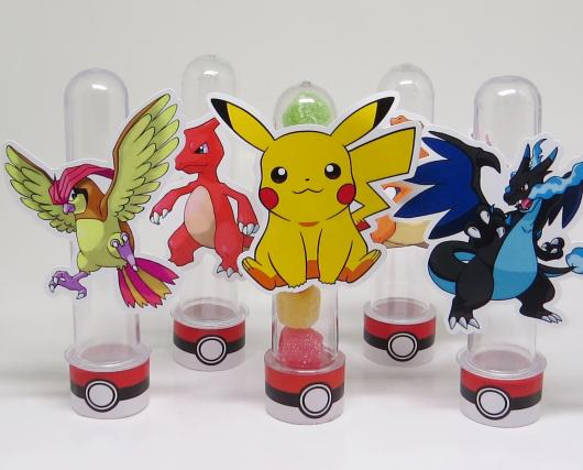 Convites Pokémon tubete