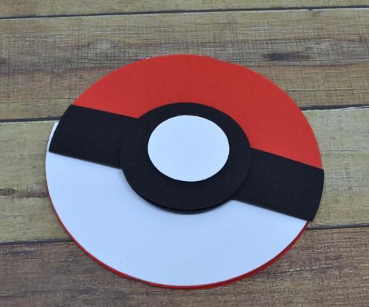 Convites Pokémon pokebola EVA