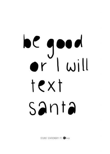 Mensagem divertida de Natal.